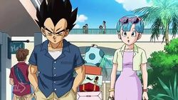 Onward to the Promised Resort! Vegeta Goes on a Family Trip?!