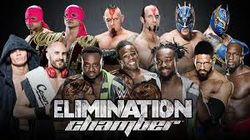 2015 Elimination Chamber - Corpus Christi, Texas