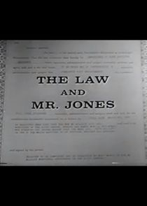 The Law and Mr. Jones