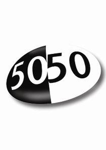 50/50 small logo