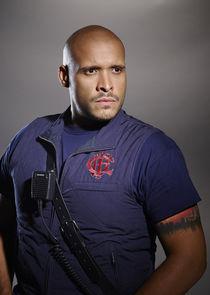 Firefighter Joe Cruz